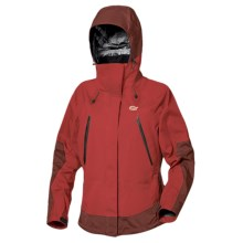 Lowe Alpine Flash Jacket - Waterproof (For Women) in Fire Red/Earth Red - Closeouts