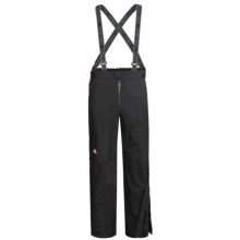 Lowe Alpine Flash Pants - Waterproof (For Men and Women) in Black/Black - Closeouts