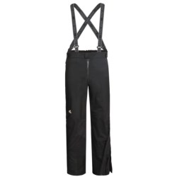 Lowe Alpine Flash Pants - Waterproof (For Men and Women) in Black/Black