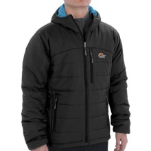 Lowe Alpine Glacier Point Jacket - Insulated (For Men) in Anthracite - Closeouts