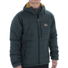 Lowe Alpine Glacier Point Jacket - Insulated (For Men) in Blue Steel/Gold - Closeouts