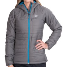 Lowe Alpine Glacier Point Jacket - Insulated (For Women) in Granite - Closeouts