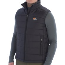 Lowe Alpine Glacier Point Vest - Insulated (For Men) in Anthracite - Closeouts