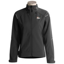 Lowe Alpine Glacion Pro Jacket - Polartec® Windbloc® (For Women) in Black/Black - Closeouts