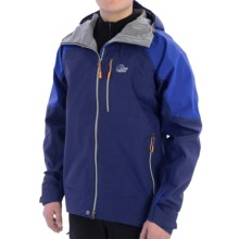 Lowe Alpine Grand Teton Jacket - Waterproof (For Men) in Nordic Blue/Blueprint - Closeouts