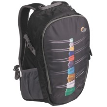 Lowe Alpine Grid 24 Daypack - Fun Series in Black Back Protector - Closeouts
