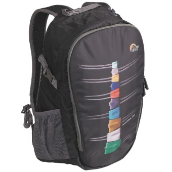 Lowe Alpine Grid 24 Daypack - Fun Series in Black Back Protector
