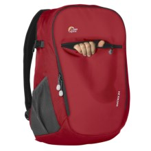 Lowe Alpine Grid 24 Daypack - Fun Series in Escape/Chili Red - Closeouts
