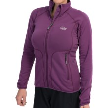 Lowe Alpine Halcyon Jacket - Fleece (For Women) in Grapejuice - Closeouts