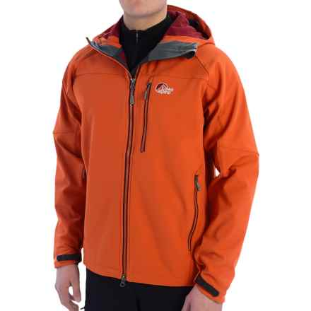 Lowe Alpine Helios Soft Shell Jacket (For Men) in Firecracker - Closeouts