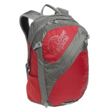 Lowe Alpine Helix 27L Backpack in Sunset Red/Zinc - Closeouts