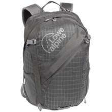 Lowe Alpine Helix 27L Daypack in Zinc Check/Zinc - Closeouts