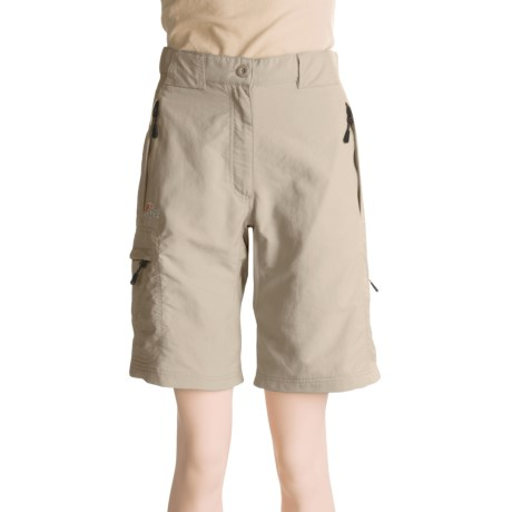 Lowe Alpine High Trail Shorts - UPF 40 (For Women) in Cocoon