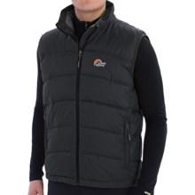 Lowe Alpine Ladakh Down Gilet Vest - 650 Fill Power (For Men) in Black/Mallard - Closeouts