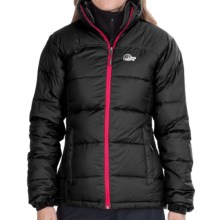 Lowe Alpine Lhasa Down Jacket - 650 Fill Power (For Women) in Black/Rosehip - Closeouts