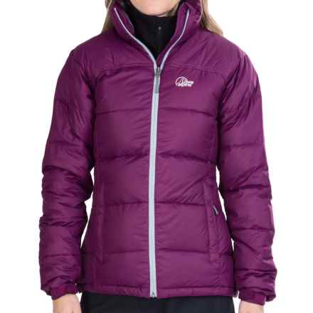 Lowe Alpine Lhasa Down Jacket - 650 Fill Power (For Women) in Plum Wine/Persian - Closeouts