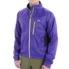 Lowe Alpine Lithium Pertex® Jacket (For Men) in Olympian Blue/Black - Closeouts