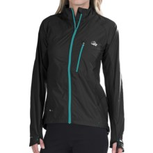 Lowe Alpine Lithium Pertex® Jacket (For Women) in Black/Black - Closeouts