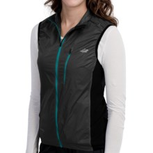 Lowe Alpine Lithium Pertex® Vest (For Women) in Black/Black/Black - Closeouts