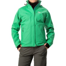 Lowe Alpine Lone Pine II Jacket - Waterproof (For Women) in Deep Mint - Closeouts