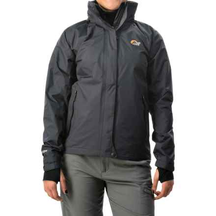 Lowe Alpine Lone Pine Jacket - Waterproof (For Women) in Black - Closeouts