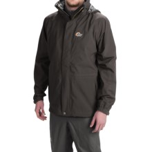 Lowe Alpine Lost Valley Soft Shell Jacket - Waterproof (For Men) in Anthracite/Slate - Closeouts