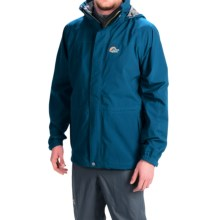 Lowe Alpine Lost Valley Soft Shell Jacket - Waterproof (For Men) in Ink/Slate - Closeouts
