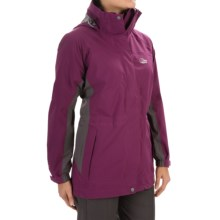 Lowe Alpine Lost Valley Soft Shell Jacket - Waterproof (For Women) in Plum Wine/Slate - Closeouts
