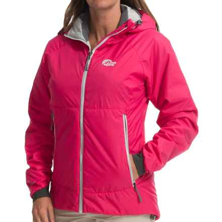 Lowe Alpine Northern Lights Jacket - Insulated (For Women) in Raspberry/Dark Slate - Closeouts