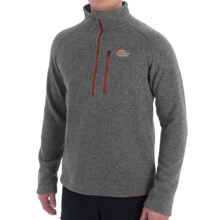 Lowe Alpine Odyssey Fleece Pullover Jacket - Zip Neck (For Men) in Granite - Closeouts