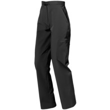 Lowe Alpine Omni Pants - Soft Shell (For Women) in Black - Closeouts