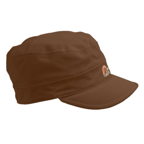 Lowe Alpine Ontario Hat - Waterproof, Fleece Lined (For Men and Women) in Chocolate Brown
