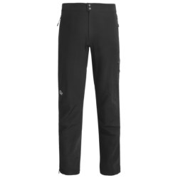 Lowe Alpine Paradigm Pants - Soft Shell (For Men) in Black