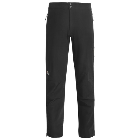 Lowe Alpine Paradigm Pants - Soft Shell (For Men) in Black