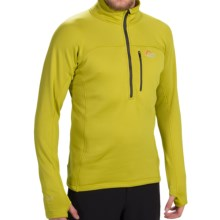 Lowe Alpine Polartec® Power Stretch® Pullover Jacket (For Men) in Zest - Closeouts