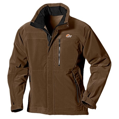 Lowe Alpine PrimaLoft® Ontario Jacket - Insulated (For Men) in Chocolate Brown