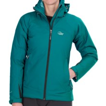 Lowe Alpine Renegade Jacket - Waterproof, Insulated (For Women) in Dark Peacock/Light Peacock - Closeouts