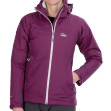 Lowe Alpine Renegade Jacket - Waterproof, Insulated (For Women) in Plumwine/Mirage - Closeouts
