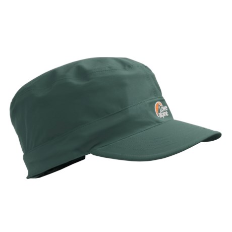Lowe Alpine Revo Hat - Waterproof, Fleece Lined (For Men and Women) in Jungle Green