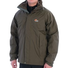 Lowe Alpine Sequoia Jacket - Waterproof, 3-in-1 (For Men) in Wren/Wren - Closeouts