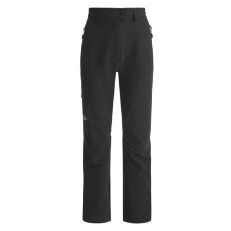 Lowe Alpine Sierra Lite Pants - Soft Shell (For Women) in Black/Black