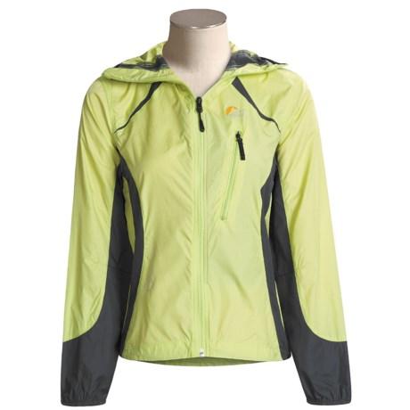 Lowe Alpine Speedy Jacket - Lightweight (For Women) in Lime/Gunmetal