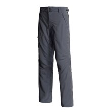Lowe Alpine Stone Pants - UPF 50 (For Men) in Gunmetal - Closeouts