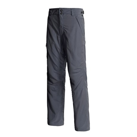 Lowe Alpine Stone Pants - UPF 50 (For Men) in Gunmetal