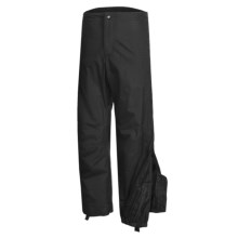 Lowe Alpine Storm Gaiter Pants - Waterproof (For Men and Women) in Black - Closeouts