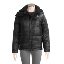 Lowe Alpine Supernova Parka - 700 Fill Power Down (For Women) in Black/Black - Closeouts