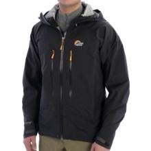 Lowe Alpine Taiga Jacket - Waterproof (For Men) in Black - Closeouts