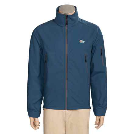 Lowe Alpine Titan Powershield Jacket - Soft Shell (For Men) in Denim Blue - Closeouts