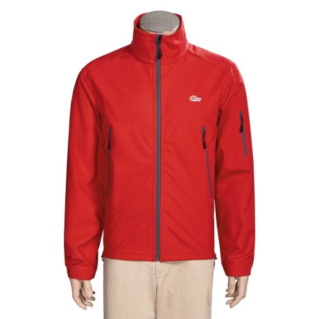 Lowe Alpine Titan Powershield Jacket - Soft Shell (For Men) in True Red
