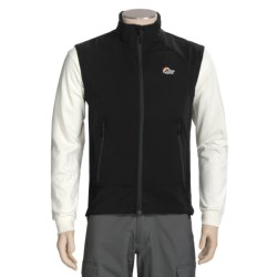 Lowe Alpine Torre Soft Shell Vest (For Men and Women) in Black